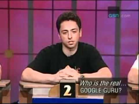 Sergey Brin Fools Them All On A Quiz Show Back In 2000