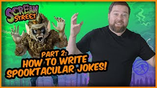 SCREAM STREET: HOW TO BE A COMEDIAN PART TWO