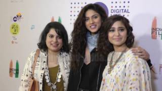 VIDEO HARAMKHOR Movie Screening  Nawazuddin Siddiqui Shweta Tripath