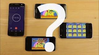 Autonomie : le Moto Z Play VS iPhone 7 VS Galaxy S7 Edge