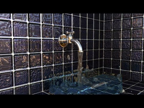 Maya 2016 tutorial : How to create a working Water Faucet