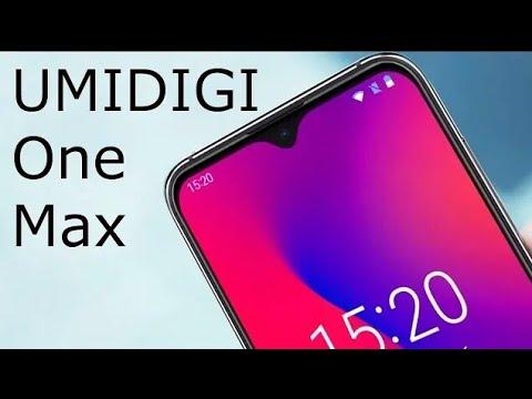★ Inspirado no OnePlus 6T só que muuuito + BARATO! Umidigi One Max