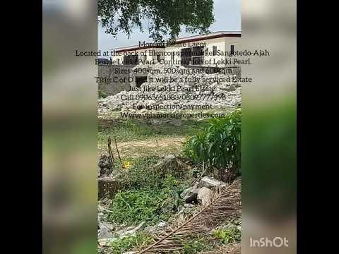 Residential Land Land for sale Behind Blenco supermarket Sangotedo Lagos