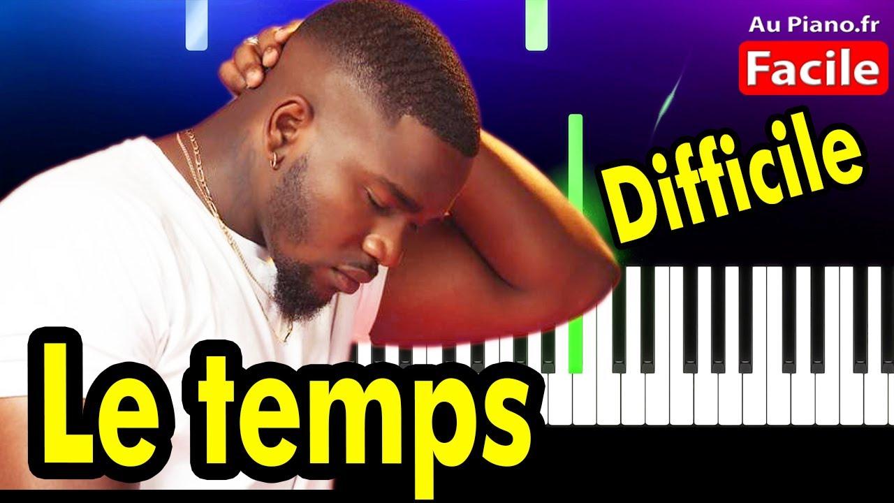 Tayc – Le Temps Piano Cover Tutorial Paroles (Difficile)