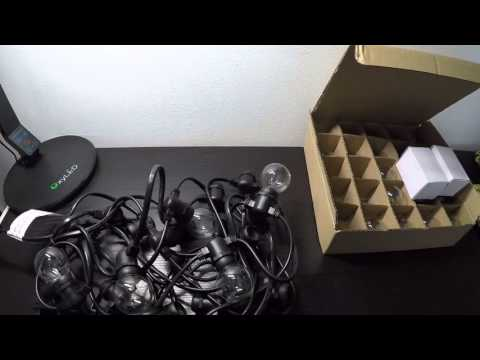 Joyin® 25 Ft Cancella Globe G40 Lights String(recensione ITA)