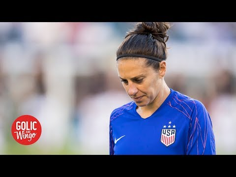 Carli Lloyd wanted to play more minutes in the Women's World Cup - Julie Foudy | Golic and Wingo