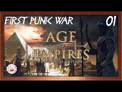 Age of Empires Definitive Edition - First Punic War Campaign - 1 Battle of Agrigentum