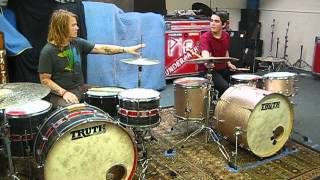 Practicing With Aaron Gillespie