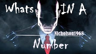 "Hitman 47,Special Extended "" Whats IN A Number,The Elite Know!"