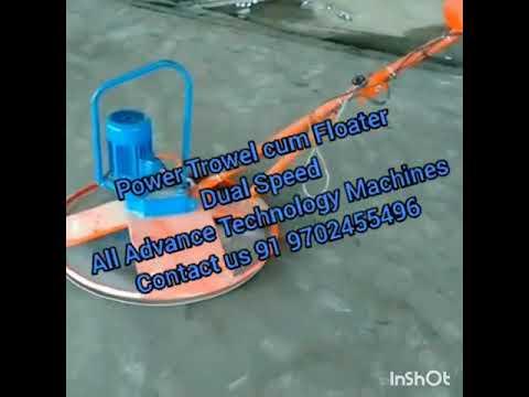 Power Trowel Cum Floater