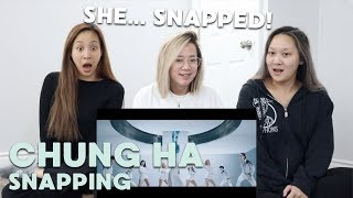 "MV REACTION | CHUNG HA (청하) ""Snapping"""