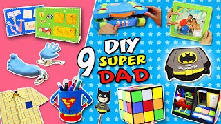 9 DIY FATHERS Day Gift Ideas | Last Minute Gifts To Make For Your Dad!!| APasos Crafts DIY