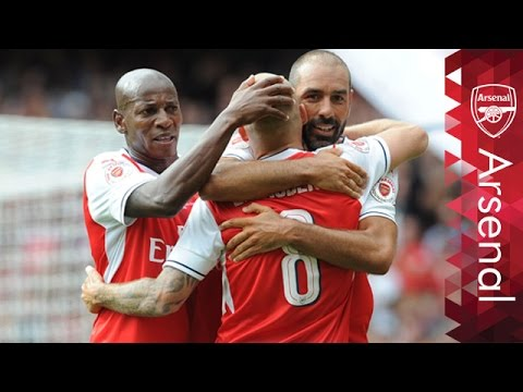 Arsenal Legends and Milan Glorie roll back the years