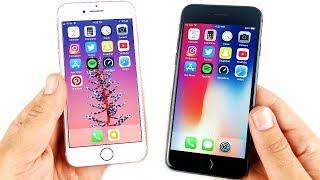 iPhone 7 vs iPhone 8 Speed Test!