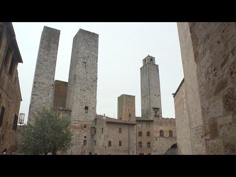 San Gimignano, Tuscany, Italy travel mov