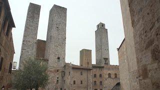 San Gimignano, Tuscany, Italy travel movie