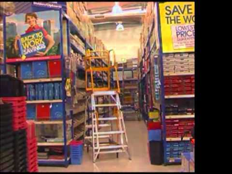Stockmaster Navigator Warehouse Platform Ladder