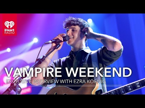Vampire Weekend's Ezra Koenig Talks 'Father Of The Bride,' And More! | Exclusive Interview - IHeartRadio