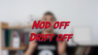 Nod off / Drift off - W47D6 - Daily Phrasal Verbs - Learn English online free video lessons