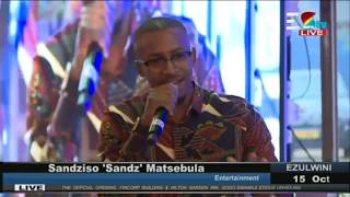 Performance by Sandz || Opening of FINCORP, Hilton Garden and Gogo Gwamile Statue