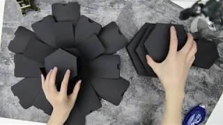 DIY Explosion Box Scrapbook 1/2 (Matryoshka)