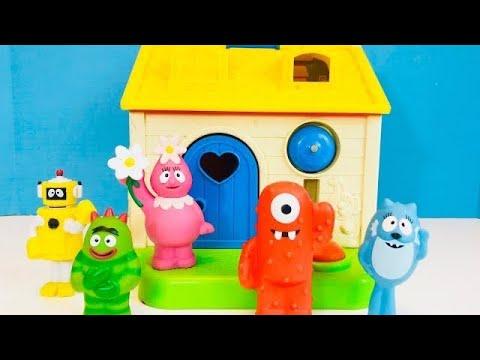Yo Gabba Gabba Toys FISHER PRICE LITTLE PEOPLE House Pet Surprises