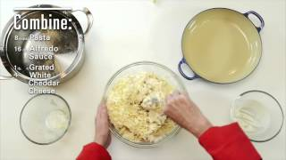 90 Second White Cheddar Mac and Cheese - Video Youtube