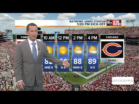 GAME FORECAST: Tampa Bay Bucs vs. Chicago Bears at Raymond James Stadium