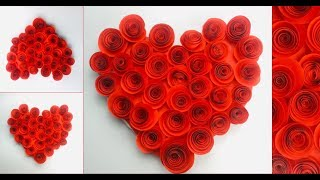 Heart Crafts With Paper | Valentine Day Paper Crafts | Heart Craft Ideas | Valentine Day Gift Ideas