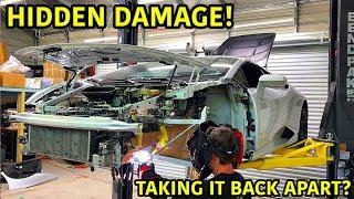 Rebuilding A Wrecked Lamborghini Huracan Part 16