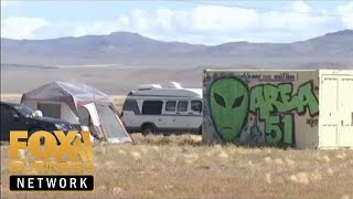 Fox Business talks to 'Storm Area 51' attendees in Nevada desert