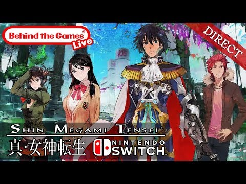🔴 SHIN MEGAMI TENSEI DIRECT | Nintendo Switch ¡¡Al fin sale a la luz!! | 真・女神転生シリーズ最新作 - BtG