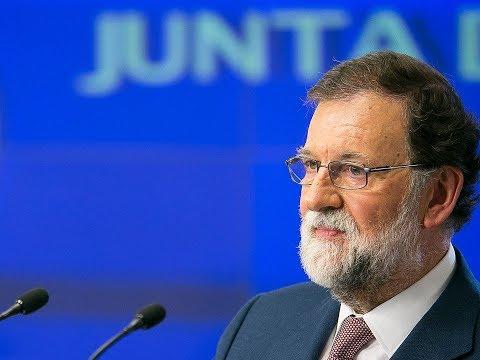 """Rajoy: """"No puede existir un gobierno democrático que pretenda ir contra la Constitución"""