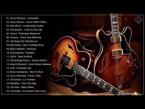 Acoustic Classic Rock - Best Classic Rock Songs Of 60s 70s 80s