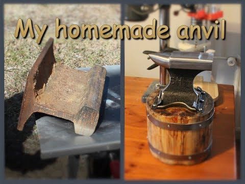 My homemade anvil