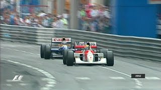 Your Favourite Monaco Grand Prix - 1992 Senna v Mansell