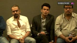 Anurag Kashyap  Sudhir Mishra  Tigmanshu Dhulia Meet For Premier Of Manoj Bajpayees Short Film Ta