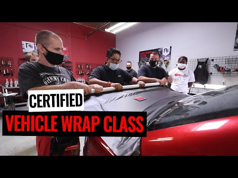 How To Become A Certified Vehicle Wrap Installer! - YouTube