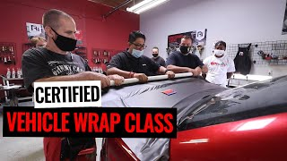 How To Become A Certified Vehicle Wrap Installer!