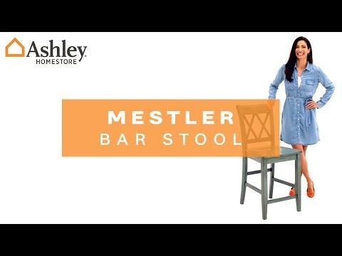 Mestler Counter Height Bar Stool Ashley Furniture Homestore