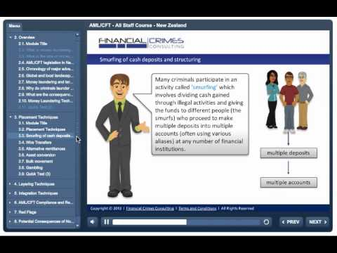 AML-CFT - New Zealand - All Staff - Online Training Course - YouTube