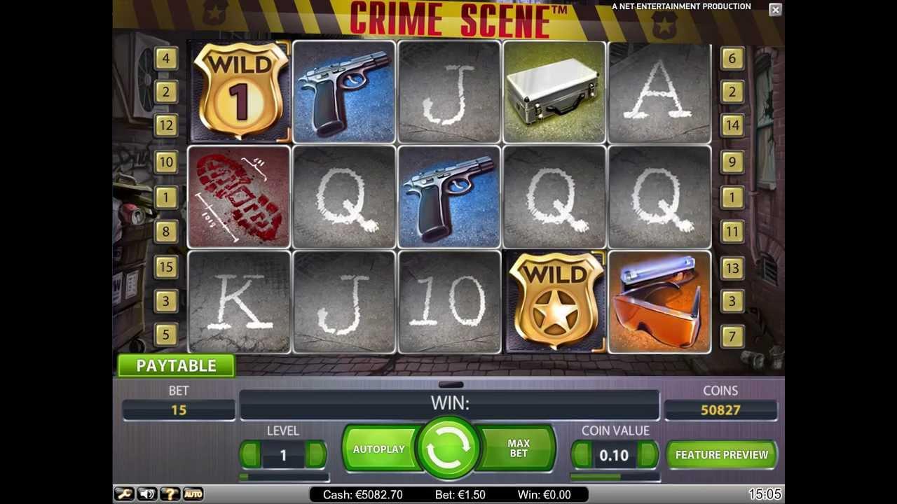 Crime Scene från NetEnt