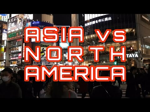 Asia vs. North America: Why Asian Cities are Way More Vibrant (видео)
