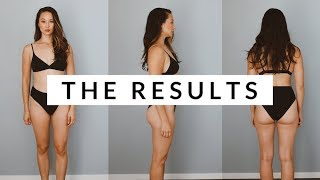8 Week Fitness Challenge Results | Vlogday Day 2 | Aja Dang