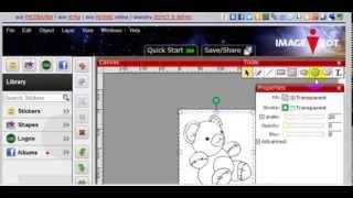 ImageBot - Обработка картинки в векторном редакторе - ч1