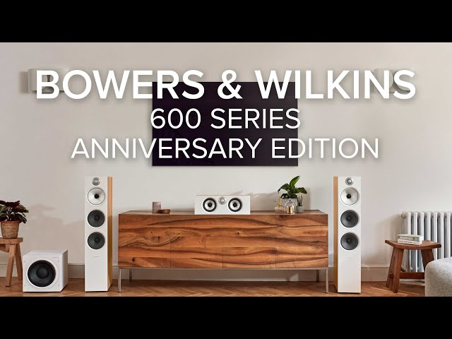 Video of Bowers & Wilkins 607 S2 Anniversary Edition