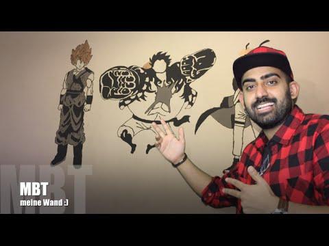 So zeichnet man auf eine Wand