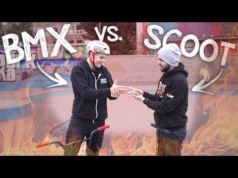BMX vs. SCOOT!