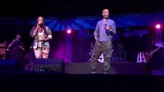"Lalah Hathaway & Rahsaan Patterson sing Michael Jackson's ""Rock With You"" at Riverfront Jazz"