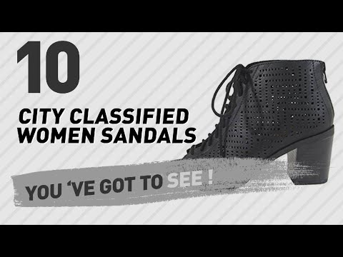 City Classified Women Sandals // New & Popular 2017